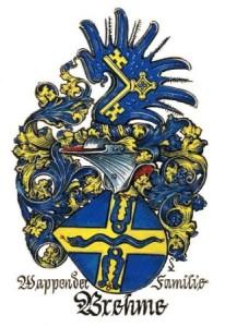 Wappen der Familie Brehme